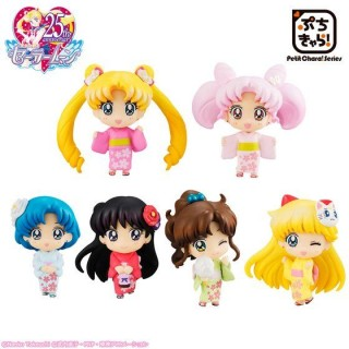 Sailor Moon Petit Chara Minna de Omatsuri-hen Sakura ver. Box of 6 Megahouse LimIted