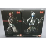 Meishou MOVIE REALIZATION Set Priest Darth Maul & Ronin Jango fett Star Wars Bandai