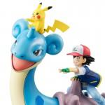 G.E.M. Series Pokemon Ash & Pikachu & Lapras MegaHouse