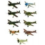 Wing Kit Collection vol.16 Japanese Reconnaissance Planes 1/144 Box of 10 F-toys confect