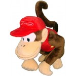 (T2E2) Super Mario Plush Toy Diddy Kong S