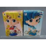 Sailor Moon Qposket petit Vol. 1 set of 2 Sailor Moon & Sailor Mercury Banpresto