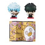 Petit Chara Land Gintama Aitsu to Ore no Nomikurabe Set Megahouse
