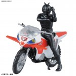 Mecha Collection Kamen Rider New 2 & New Cyclone Plastic Model Bandai