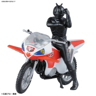 Mecha Collection Kamen Rider New 2 & New Cyclone Plastic Model Bandai
