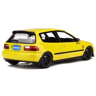 Honda Civic SiR II (EG6) Spoon (Yellow) 1/18 OttO mobile