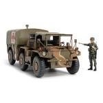 (T6E6B) Tamiya 1/35 Military Miniature Series Plastic Model America M792 Gamagoto field ambulance