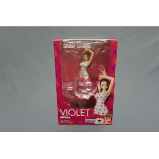 (T5E6) one piece figuarts zero Violet bandai