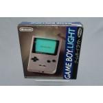 (T4E2) Nintendo game boy light silver argent MGB-101 Japanese version