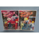 (T3E5) Street Fighter II X Gijoe set Ken and Ryu vintage 1993 Hasbro