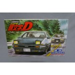 (T5E11) Initial D Model kit AE 86 Trueno 1/24 Fujimi