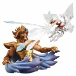 (T2E1) Saint Seiya Diorama Box Collection Leo Aiolia Megahouse