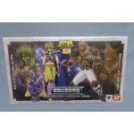(T10E11) Saint Seiya Myth Cloth Ophiuchus Shaina and Cassios set Bandai