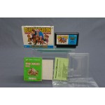 (T2E17) DERBY STALLION THOROUGHBRED SIMULATION GAME FAMICOM
